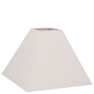 LAMP SHADE SQUARE LARGE BEIGE E27/E14