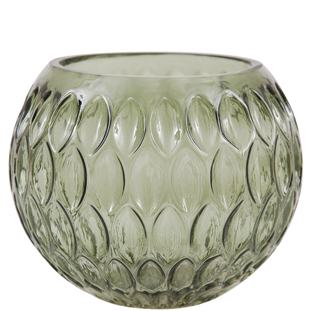 CANDLE HOLDER EVONNE GREEN