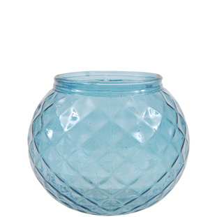 CANDLE HOLDER EVY BLUE