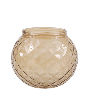 CANDLE HOLDER EVY BROWN