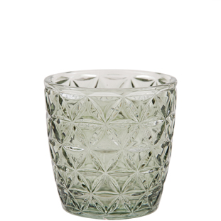 CANDLE HOLDER ENYA GREEN