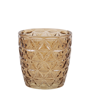 CANDLE HOLDER ENYA BROWN