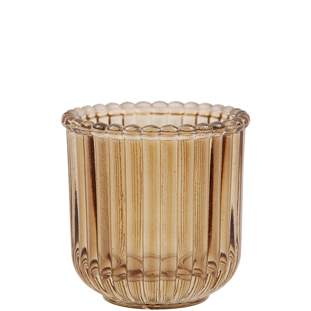 CANDLE HOLDER EMELINE BROWN