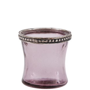 CANDLE HOLDER NIZZA PURPLE