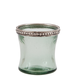 CANDLE HOLDER NIZZA GREEN