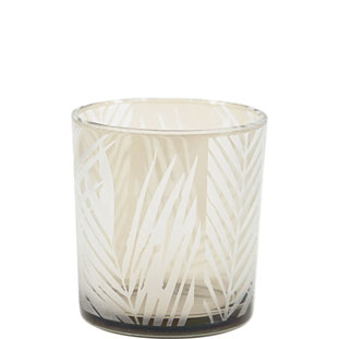 CANDLE HOLDER PAPUA SMALL GREY