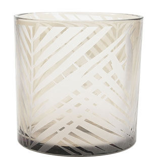 CANDLE HOLDER PAPUA LARGE GREY