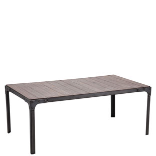 COFFEE TABLE FACTORY VINTAGE GREY