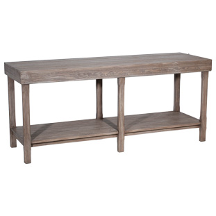 DECOR TABLE VINTAGE GREY