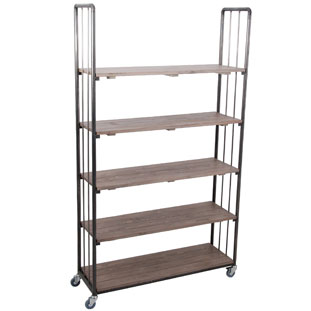 SHELF UFFE HIGH WIDE VINTAGE GREY