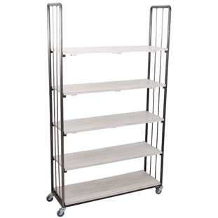 SHELF UFFE HIGH WIDE WHITE