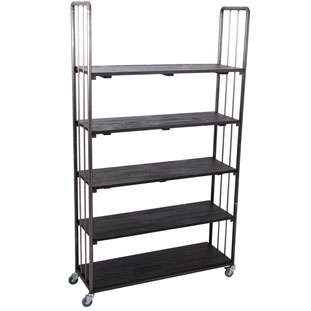 SHELF UFFE HIGH WIDE BLACK