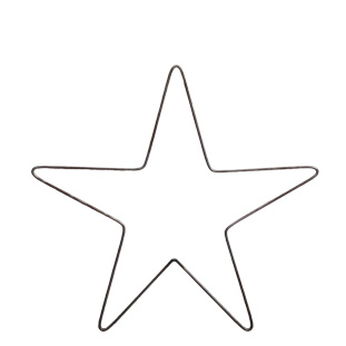 DECORATION FORGED METAL STAR SMALL