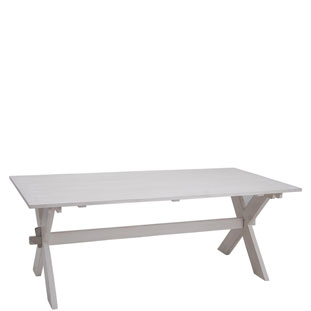 TABLE SOHO WHITE