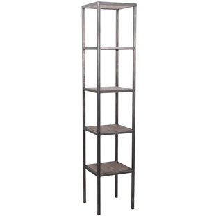 SHELF TRIBECA TOWER VINTAGE GREY