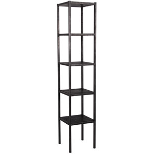 SHELF TRIBECA TOWER BLACK