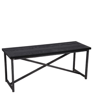 BENCH MANHATTAN BLACK