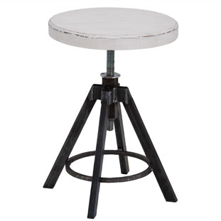 STOOL HELLS KITCHEN WHITE