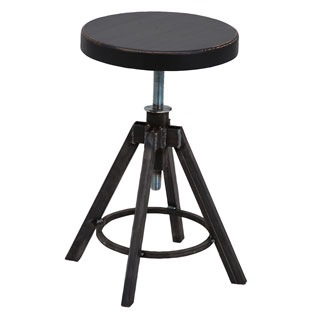 STOOL HELLS KITCHEN BLACK