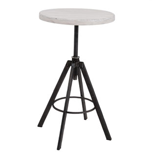 BAR TABLE HELLS WHITE
