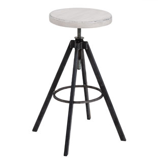 BAR STOOL HELLS KITCHEN WHITE