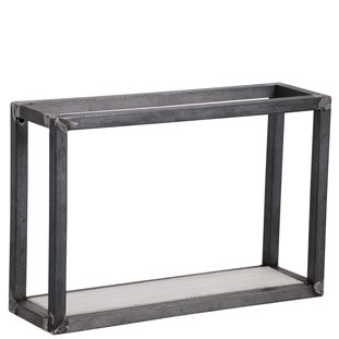 WALL SHELF SQUARE 1 WHITE