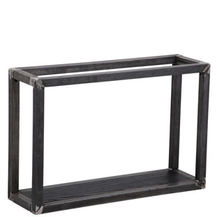 WALL SHELF SQUARE 1 BLACK