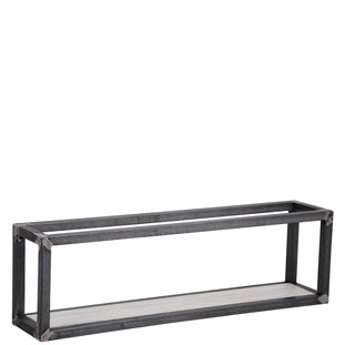 WALL SHELF SQUARE 3 WHITE