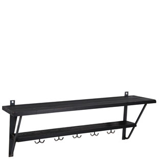 WALL SHELF LA CUISINE BLACK