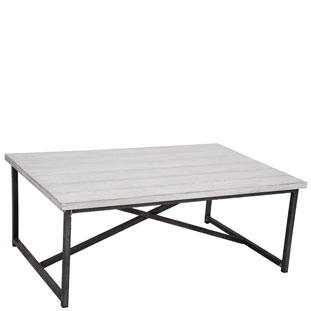 COFFEE TABLE MANHATTAN WHITE