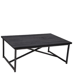 COFFEE TABLE MANHATTAN BLACK
