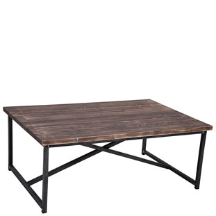COFFEE TABLE MANHATTAN VINTAGE BROWN