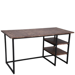 DESK TRIBECA VINTAGE BROWN