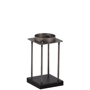 CANDLE HOLDER EMPIRE SMALL BLACK
