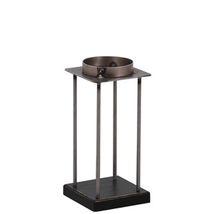CANDLE HOLDER EMPIRE MEDIUM BLACK