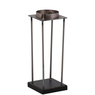 CANDLE HOLDER EMPIRE LARGE BLACK