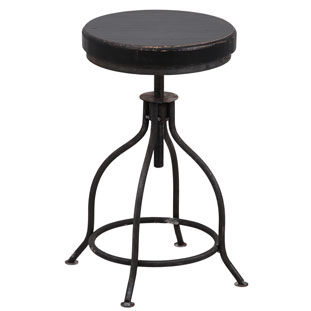 STOOL LA CUISINE BLACK