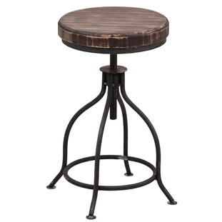 STOOL LA CUISINE VINTAGE BROWN