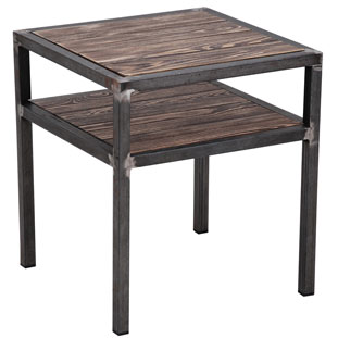 TABLE HARLEM VINTAGE BROWN