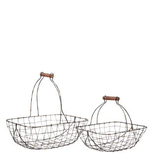 METALBASKET SAMMY 2/SET