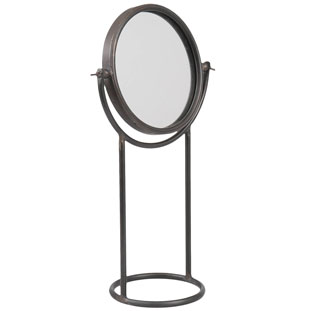 METALL MIRROR ROUND