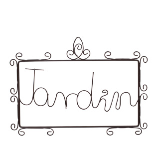 SIGN JARDIN