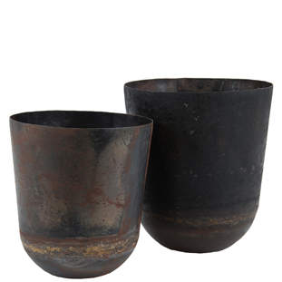 RECYCLED POT SMALL 2/SET