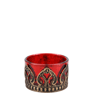 CANDLE HOLDER CHICO RED
