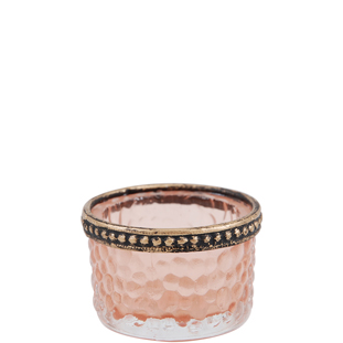 CANDLE HOLDER SAVION PINK