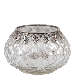 CANDLE HOLDER TRIXY CLEAR