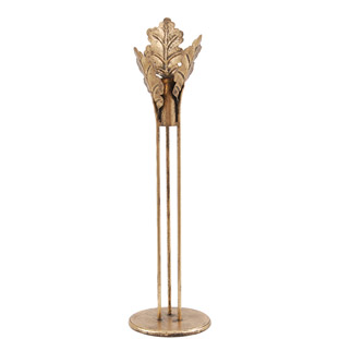 CANDLE HOLDER GOLDEN OAK LARGE