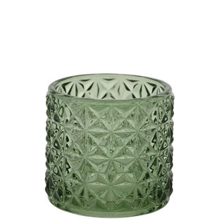 CANDLE HOLDER EMMA SMALL GREEN