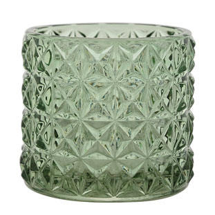CANDLE HOLDER EMMA LARGE GREEN