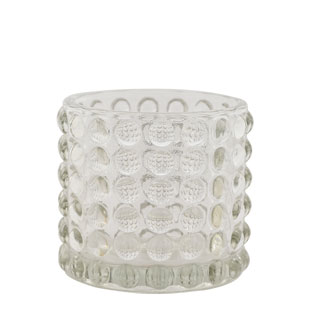 CANDLE HOLDER PIANA SMALL CLEAR